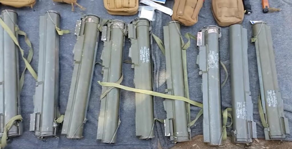 Syrian Security Forces Seized Large Weapons Cache Smuggled For Terrorist Cells In Hama (Video)