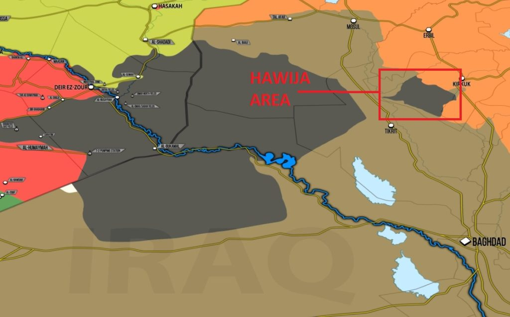 Iraqi Army, PMU Launch Second Phase Of Operation In Hawija Area. Over 40 ISIS Members Killed