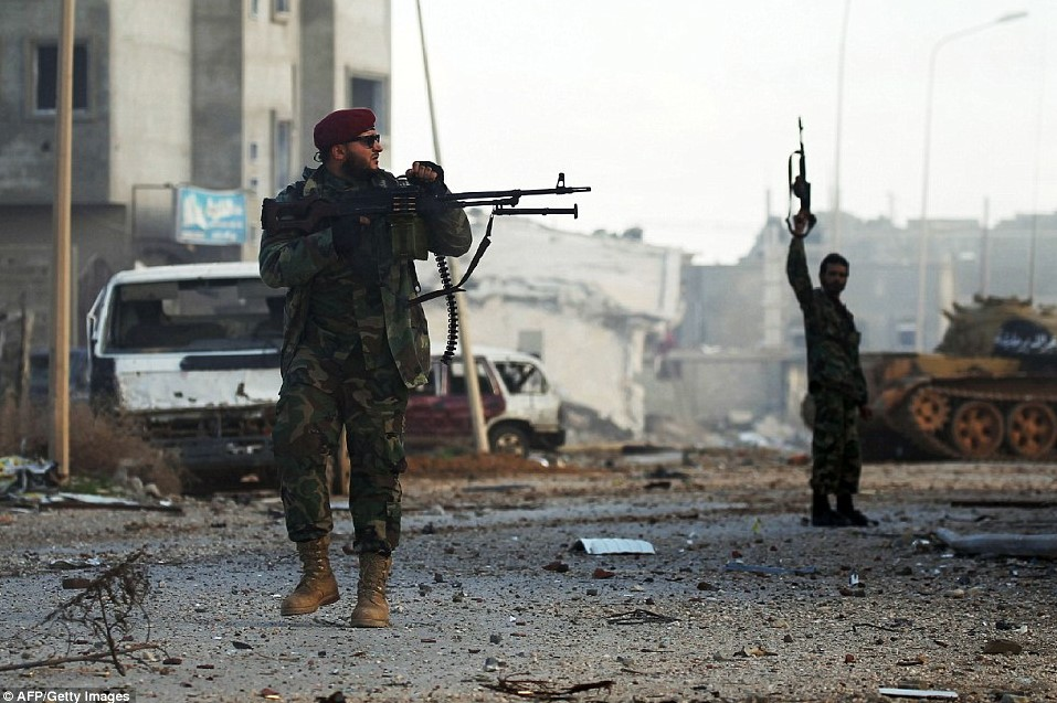 Libyan National Army Captures Key Area South Of Tripoli