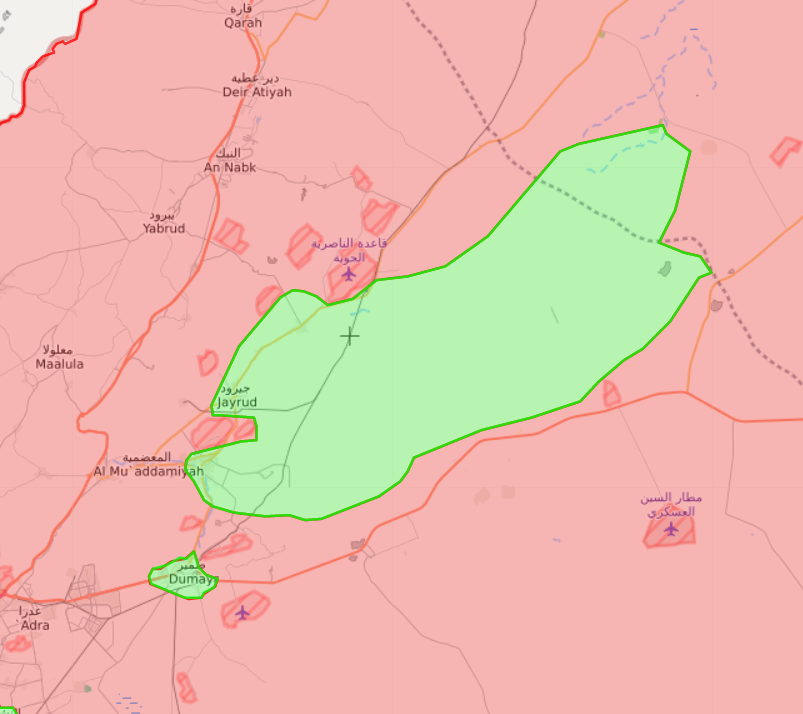 Two New De-Escalation Zones In The Eastern Qalamoun And Afrin
