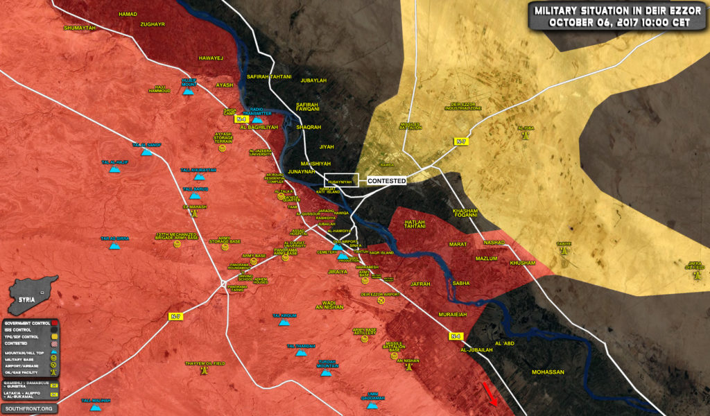 Clashes Erupt Between Syrian Army And ISIS In Deir Ezzor City