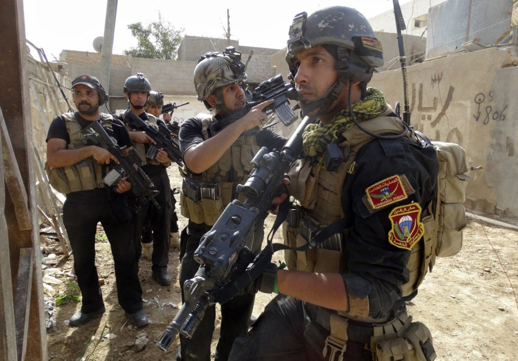 Iraqi Forces Prepare For Push Towards ISIS Stronghold At Border With Syria