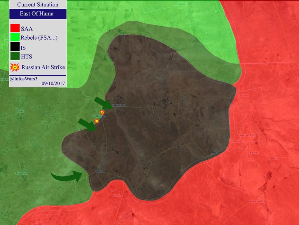 Hayat Tahrir al-Sham Claims It Destroyed ISIS Battle Tank In Northern Hama