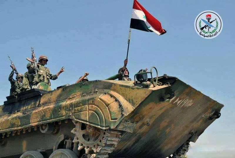 Army Liberates 8,000km2, Establishes Control Over Entire Jordanian Border With Rif Dimashq Governorate - Syrian Media