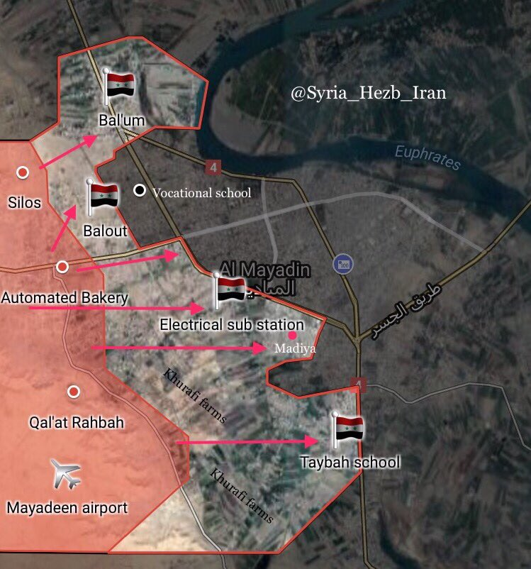 Syrian Army Successfully Advances Inside Mayadin City In Euphrates Valley (Maps)