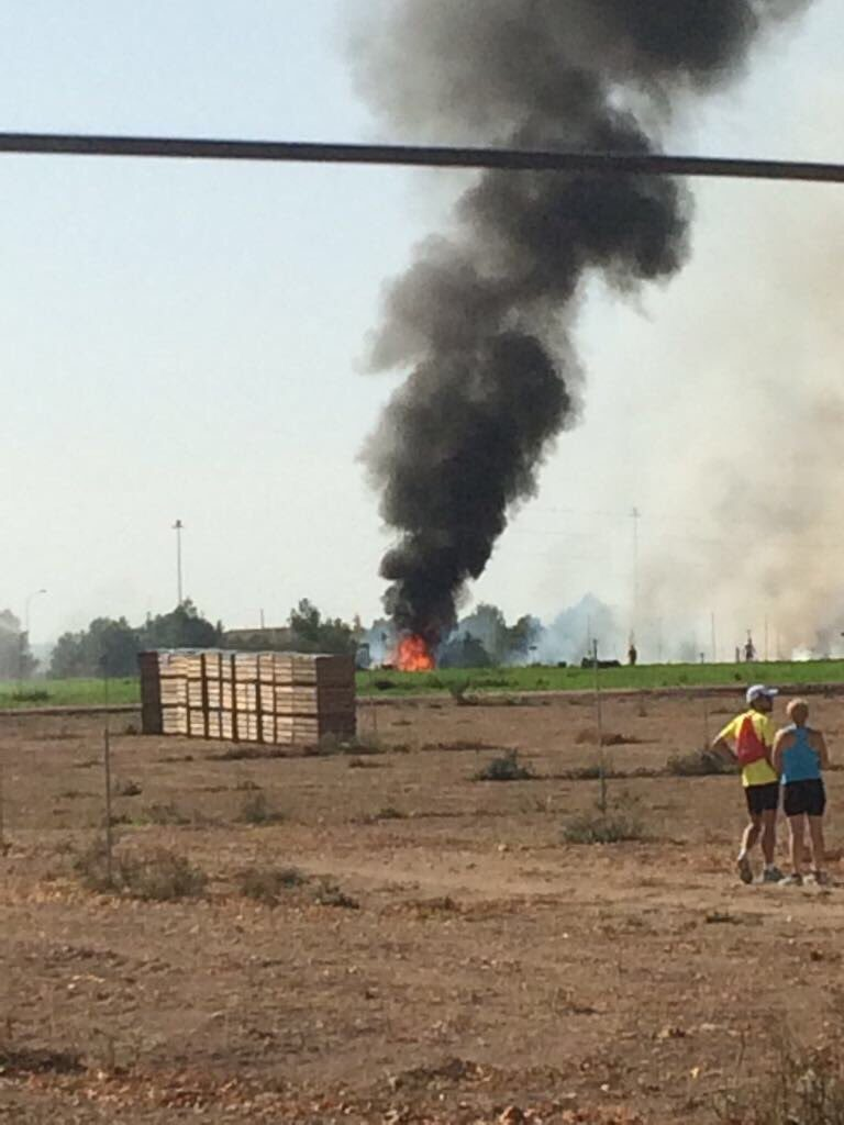Spanish Fighter Jet Crashed After National Day Parade In Madrid. Pilot Died (Videos)