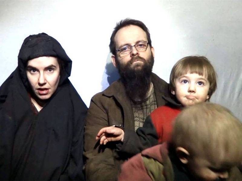 Pakistani Army Freed US-Canadian Family From Taliban