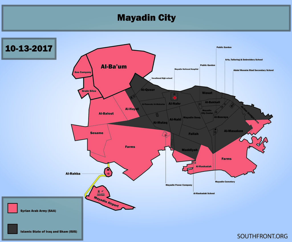 Syrian Army Encircled ISIS In Mayadin and Deir Ezzor (Overview)