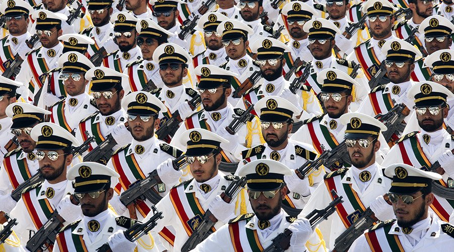 "Trump Announces New ""Strategy"" On Iran. US Designates IRGC As Terrorist Group"