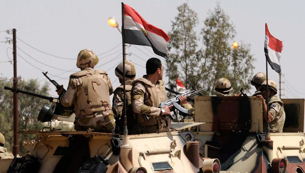 Two ISIS Sucidie Bombers Attack Egyptian Army In Northern Sinai