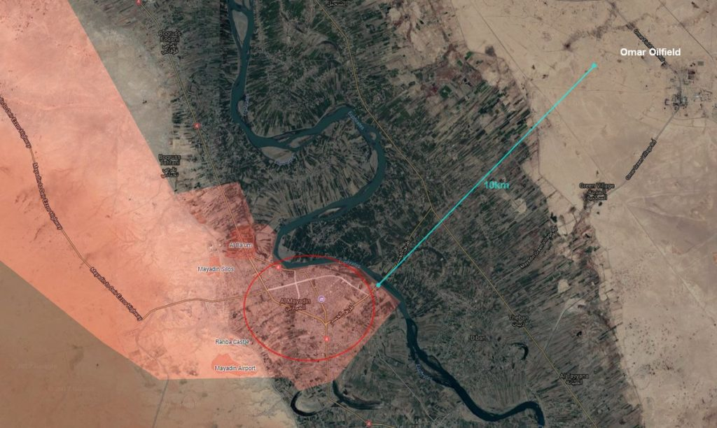 Tiger Forces Liberated Strategic Al-Mayadin City From ISIS (Map)