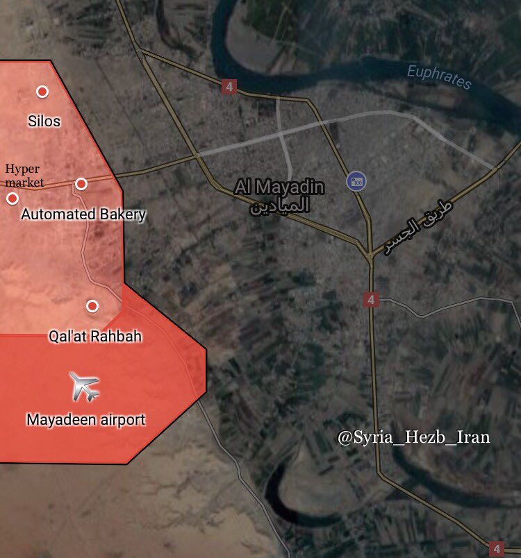 In Maps: Liberation Of Mayadin City From ISIS By Syrian Army