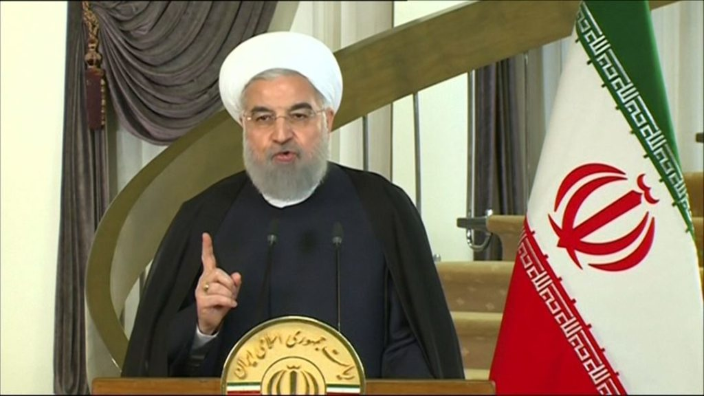 Rouhani: Iran Will Stay In Nuclear Deal Only If It Serves Its Interests