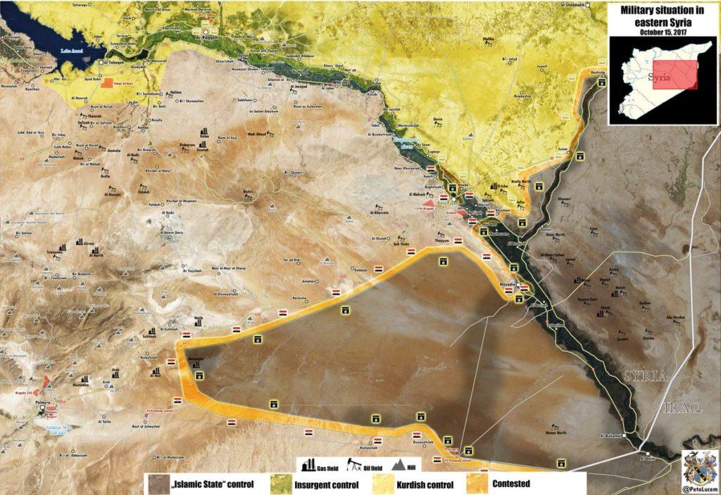 シマル陸軍、ユーフラテス川を越えて、オマル油田に向けて準備を進める準備 - レポート