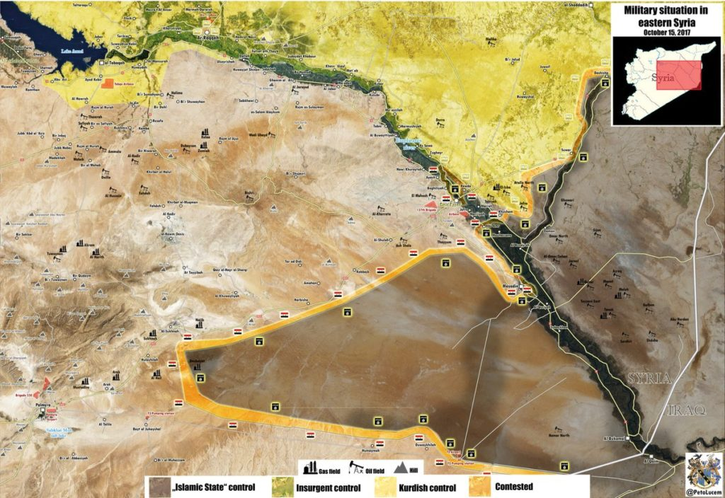 Syrian Army Preparing To Cross Euphrates And To Advance Towads Omar Oil Fileds - Reports