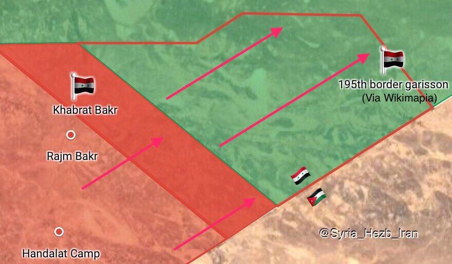 Syrian Army Further Pushes Along Jordanian Border, Captures 10 Border Garrisons (Maps)