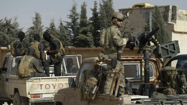 """U.S. """"Local Allies"""" Face Hard Times As Washington's Campaign Against ISIS Moves To Its End"""