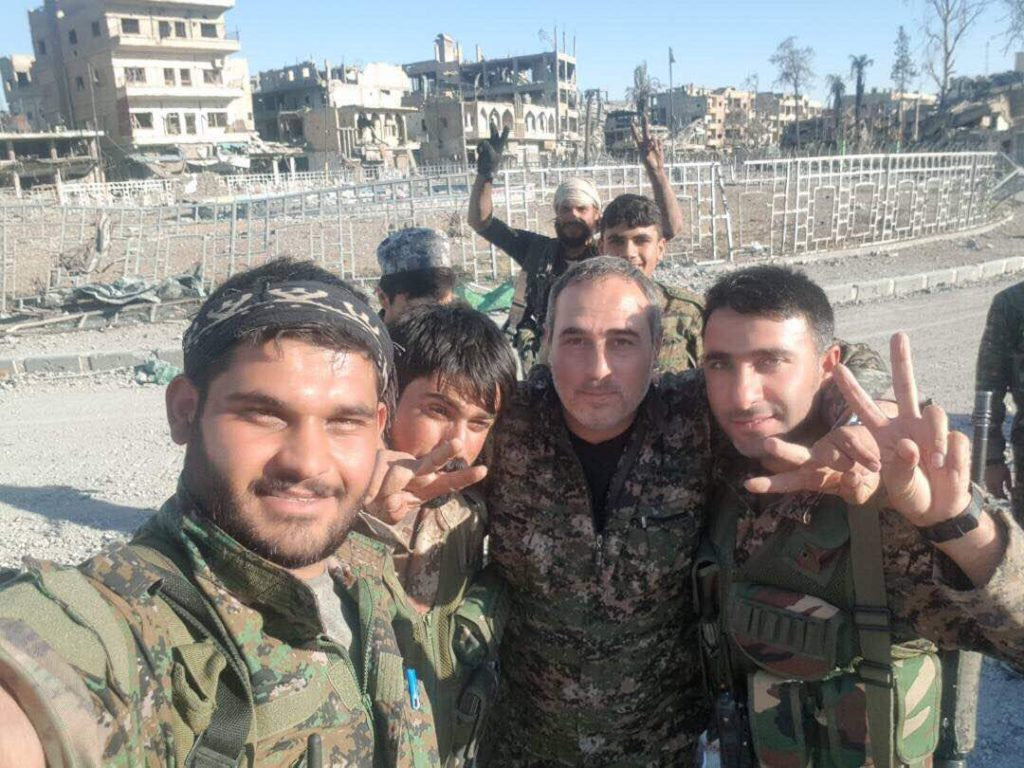 Syrian Democratic Forces Took Full Contol Over Raqqah City