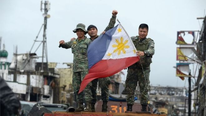 Philippine President: Marawi Ciy Is Liberated From ISIS