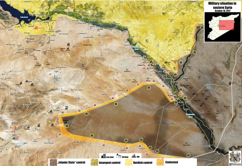 Syrian Army Crossed Euphrates River Near Mayadin, Captured Vilalge South Of Omar Oil Fields - Unconfirmed