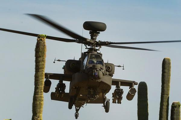 UAE AH-64 Apache Attack Helicopter Crashed In Yemen. 2 Pilots Killed