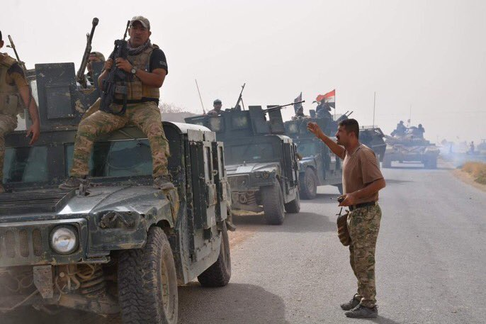 Iraqi Army Calls On ISIS In Al-Qa'im To Surrender, Deploys More Units East Of Rawa