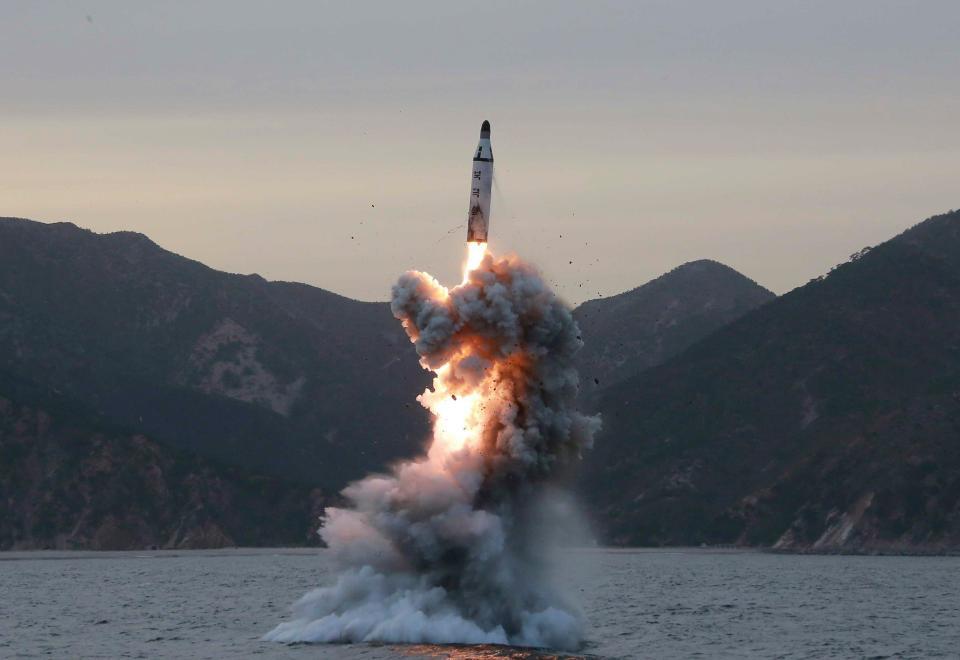 """North Korea Builds New Ballistic Missile Submarine, Promises """"Unimaginable"""" Strike Against U.S."""