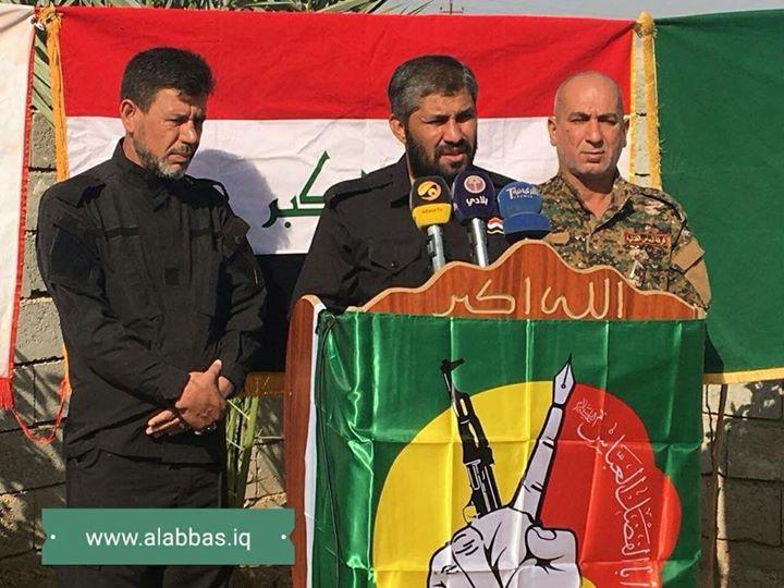 PMU's Al-Abbas Fighting Division Finishes Its Tasks Within Al-Hawija Operation