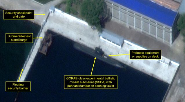 North Krorea Develops Sea-Based Leg Of Its Nuclear Forces