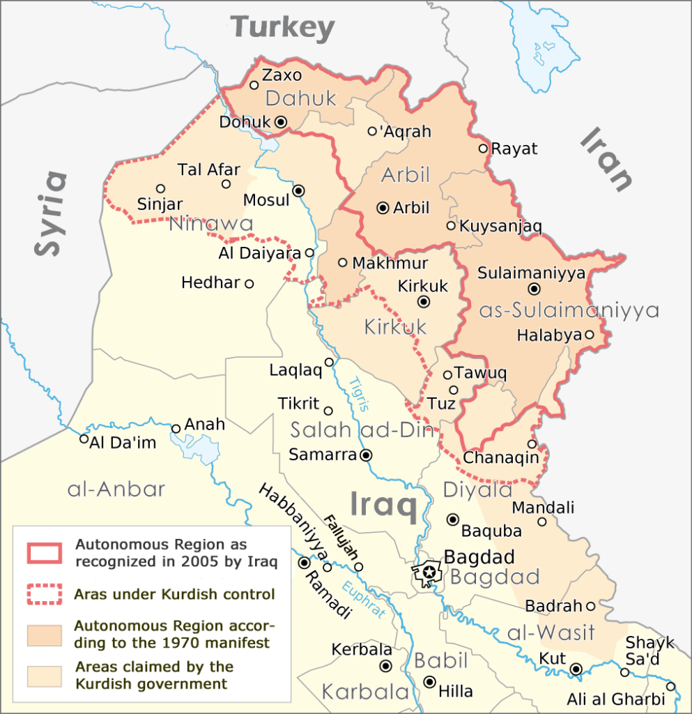 Iraqi Kurdistan Leadership Reach Deal With Baghdad: Kurdish Forces To Retreat To 2003 Borders - Media