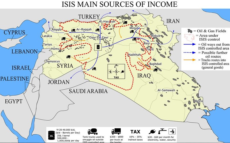 Oil Race In Syria And Iraq