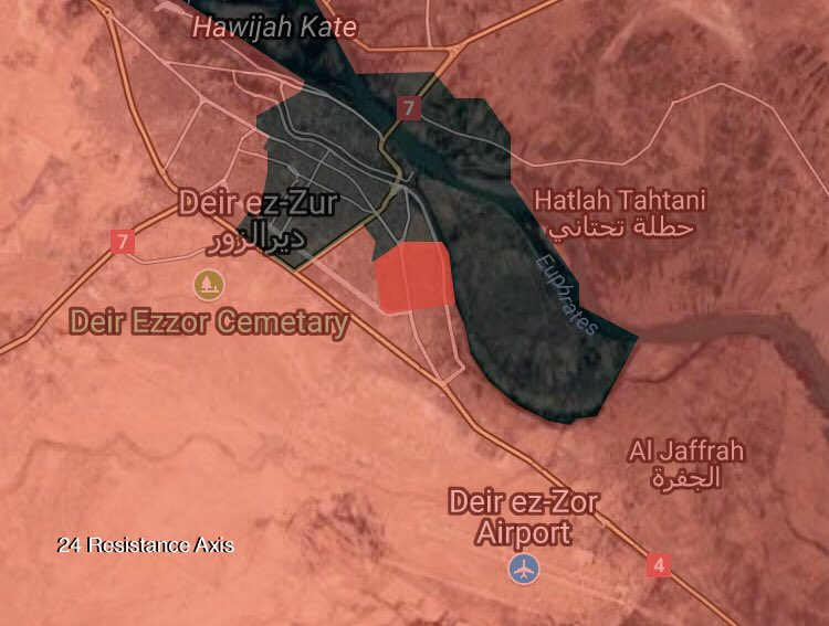 Syrian Army Captures Industrial Area, Advances In Khassarat District In Deir Ezzor City (Maps)
