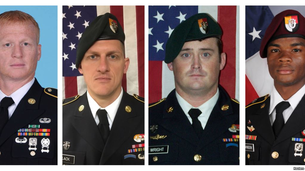 More Details About Attack That Killed Four Members Of US Special Operations Forces In Niger