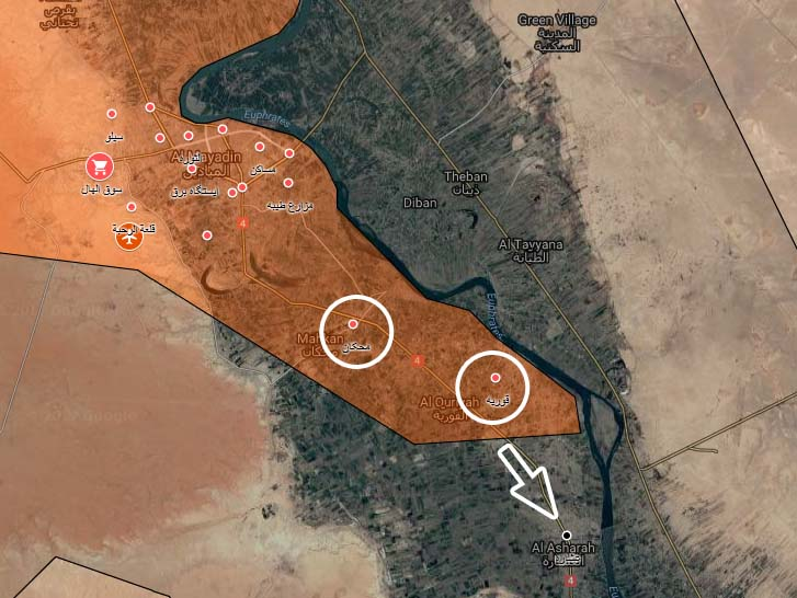 Syrian Army Advances Near Al-Mayadin As Situation In Omar Oil Fields Remains Unclear