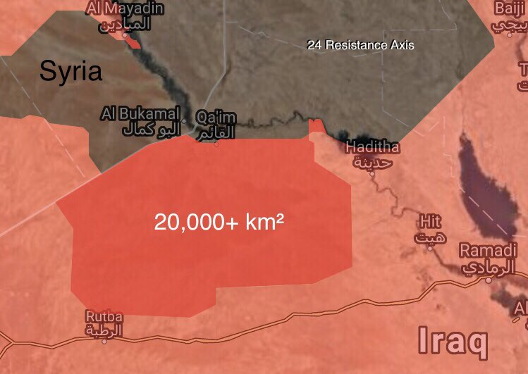 Iraqi Forces Reach Al-Qa'im In Lightning-Like Advance (Maps)