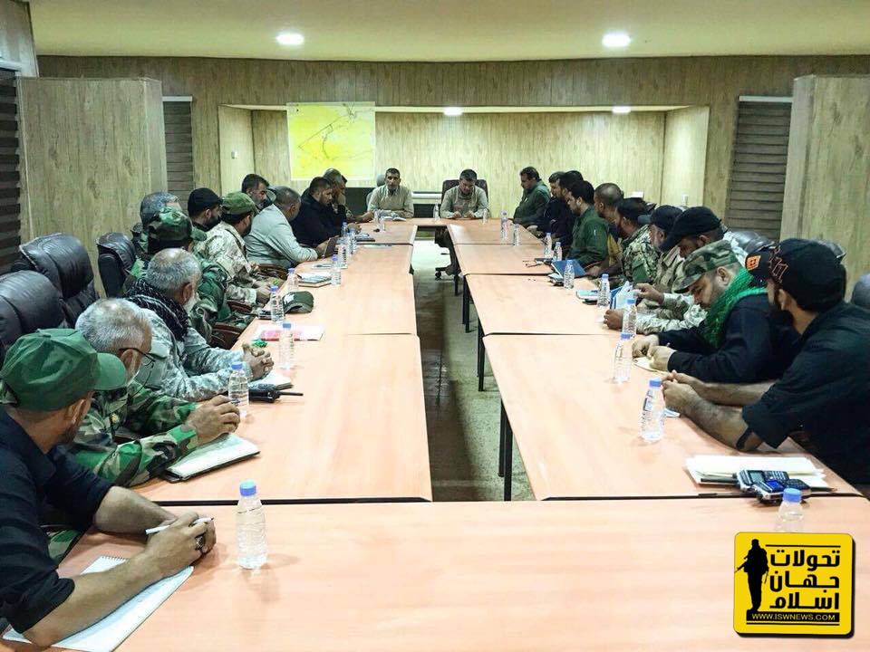 PMU Leaders, Army Commanders Discuss Upcoming Anti-ISIS Operation At Syrian-Iraqi Border