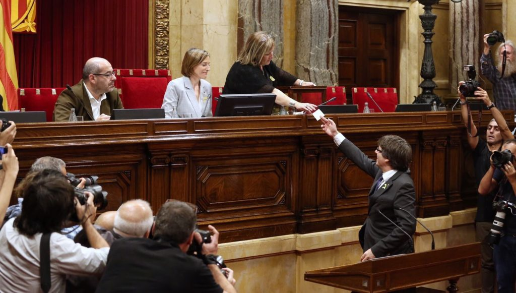 Catalonia Declared Independence From Spain