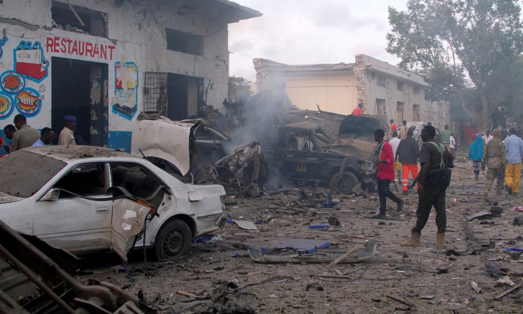 Series Of Terrorist Attacks Continues In Somali: Dual Bombing Kills At Least 13 People In Mogadishu