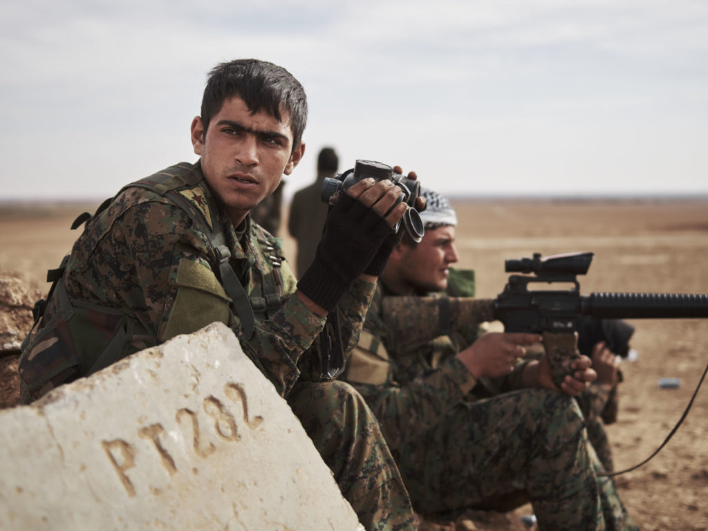 US-backed Forces Capture More Points Northeast Of Syria's Deir Ezzor City - Reports