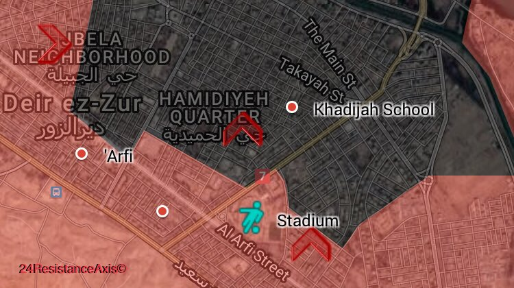 Syrian Army Enters Deep Inside ISIS-held Part Of Deir Ezzor City (Map)