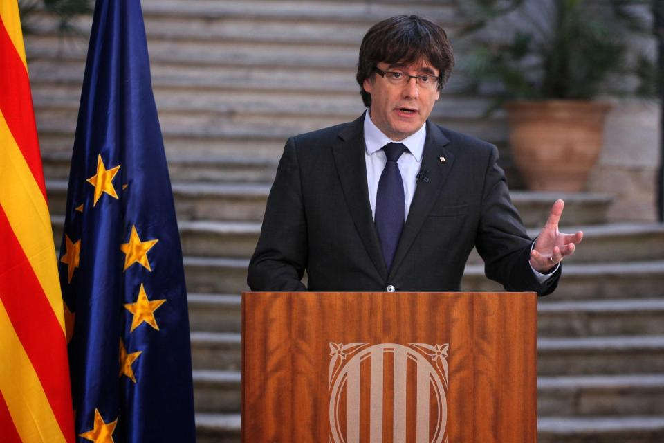 Catalan Leader Puigdemont Fled Country After Spanish Government Took Control Of Catalonia