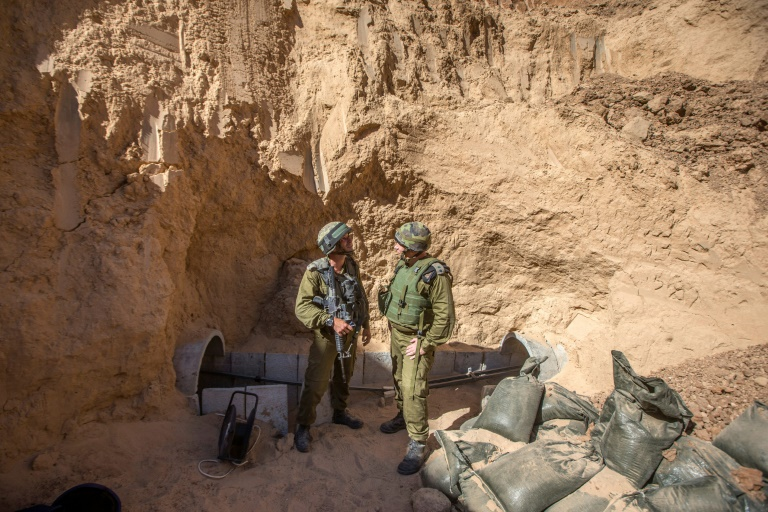 Israel Defense Forces Blew Up Undeground Tunnel Near Gaza Border