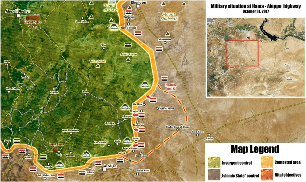 Map Update: Syrian Government Forces Made Large Progress Against Terrorists In Northeastern Hama