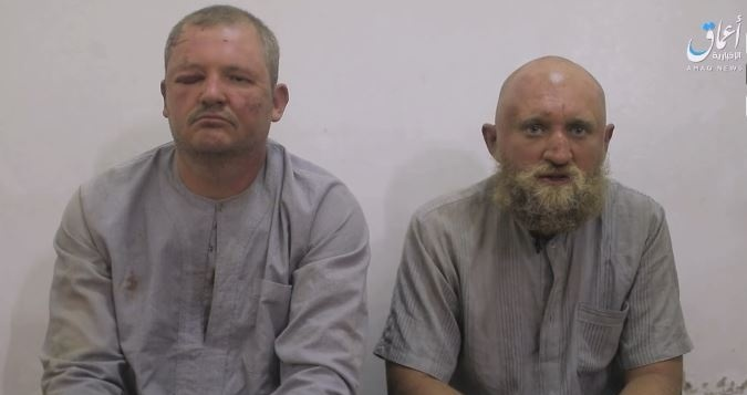 """ISIS Released Video Showing """"Two Russians"""" Captured During Clashes In Central Syria"""