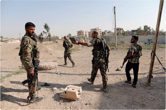Syrian Democratic Forces Enter Dashisha As ISIS Defense Collapses