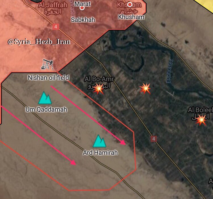 Syrian Troops Capture Two Important Hills En Route To ISIS Stronghold Of Mayadin (Map)