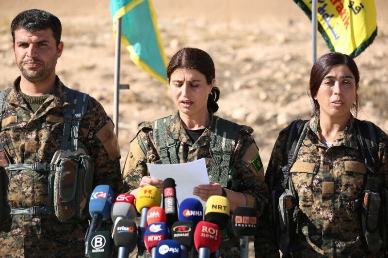 SDF Spokesperson Accuses Syrian Army Of Aiding ISIS Attack