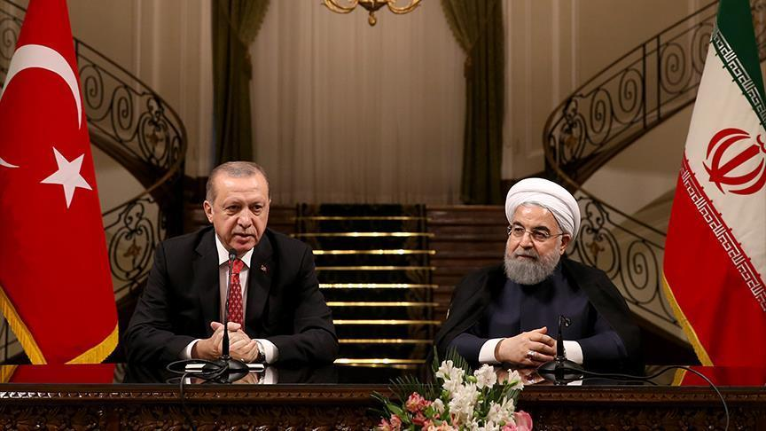 Turkish And Iranian Presidents Met In Tehran To Discuss Iraqi Kurdistan Independence Referendum