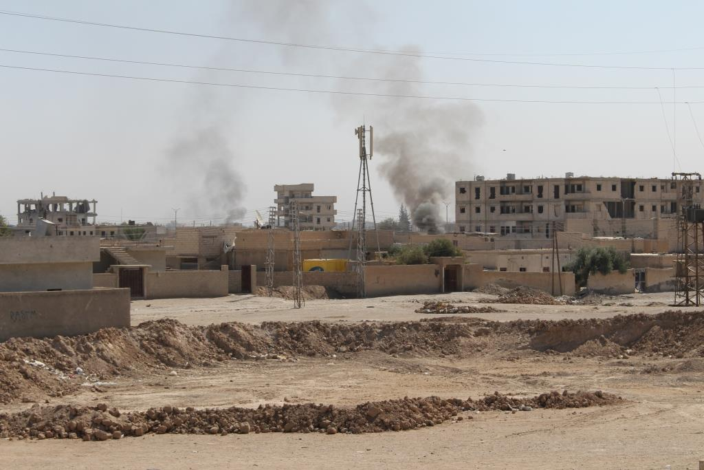 Syrian Democratic Forces Advance In North Of Deir Ezzor City