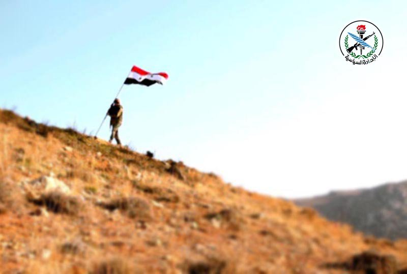Overview Of Recent Syrian Army Operations At Jordanian Border